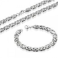 PROMOCJA!!!bransoletka splot królewski płaski srebro 925 nowe pancerkA