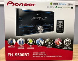 Магнитола Pioneer FH-S500BT 2-DIN Bluetooth In-Dash CD/AM/FM
