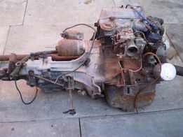 Двигатель, коробка, кардан Mitsubishi Vulcan-S Minica F4, Minicab 4