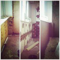 Ремонт /утепление балконов. Утепление стен.