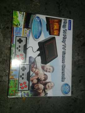 Lexibook Plug n play tv game console with 300 games