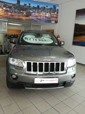 2012 Jeep Grand Cherokee 3.6i Overland 4x4  with full service history