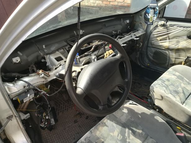 Mitsubishi Carisma руль,рейка,гидроуселитель, подушка, панель, прибор Христиновка - изображение 2