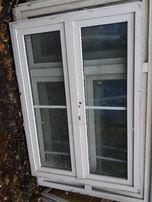 Drzwi balkonowe Okno PCV 130 cm szerokości na 180 cm wysokości