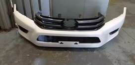 Toyota Hilux gd6 Complete Front Bumper