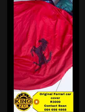 Ferrari car cover