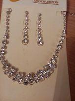 Ожерелье и сережки
