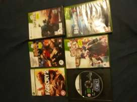 6 games for xbox 360