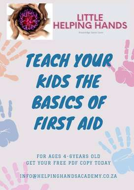 Free Kids First Aid Booklets