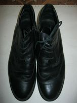 Продам кожаные осенние полуботинки