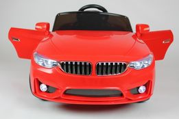 CABRIO BETA Auto na akumulator gumowe koła Pilot USB 2 SILNIKI 12V
