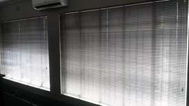 Four brand new window blinds