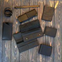 Кожаный кошелёк,кошельки унисекс,ручная работа,гаманець мужской,женски