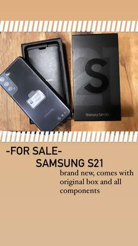 Brand New Samsung S21 for sale