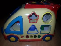 Interaktywna zabawka - samochód firmy Navystar
