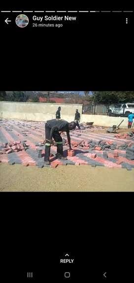 Concrete Paving r45/ m2 , 50mm thick