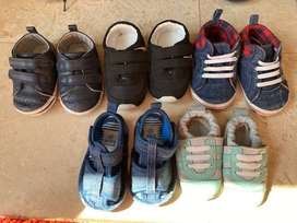 baby toddler shoe sandal slipper bundle size 2 and 3 good condition.