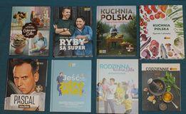 Zestaw książek kucharskich 8 szt + Gratis Lidl Biedronka