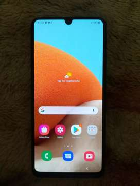 I'm selling a New Samsung galaxy A32 connection Excellent
