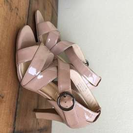 Tosoni patent leather heels (size 4)