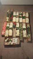 Sztuczne kwiaty do dekoracji - grubosz