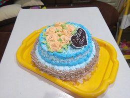 Торты на заказ, выпечка и пирожки!