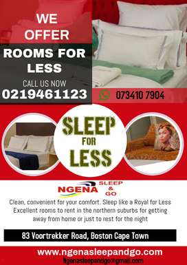 Sleep and go at a good low price.