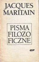 J. Maritain, Pisma filozoficzne