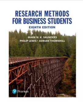 Textbook : Research Methods for Business Students