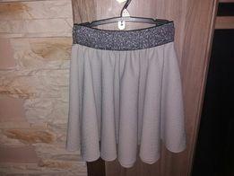 Piękna spódniczka brokat pas Okazje 140cm