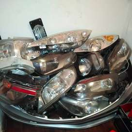Normal and xenon head lights for all car's