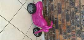 Kids Pink Scooter Ride On