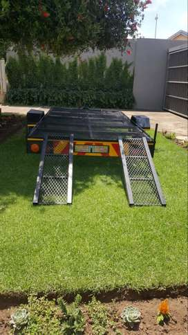 Trailer - Bike / Quad Trailer For Sale - R12K Neg With Reg Papers.