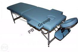 Масажний стіл ліжко 2-х сегментне алюмінійове 12кг