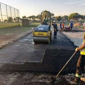 Tar roads surfacing, tennis courts and Paving services