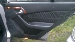 Mercedes W220 skóra BDB fotele boczki kanapa tapicerka