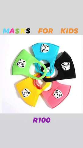 Kiddies Face Masks