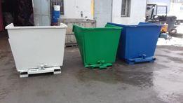 Koleba pojemnik stalowy koliba kosz 1m3 kontener oznaczenie CE