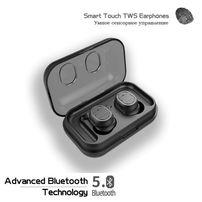 TWS Hook - беспроводные наушники на Bluetooth 5.0 с сенсорным управ-ем
