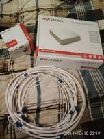ВидеорегистраторTurboHD (HDVR) HIKVISION DS-7100 с камерой