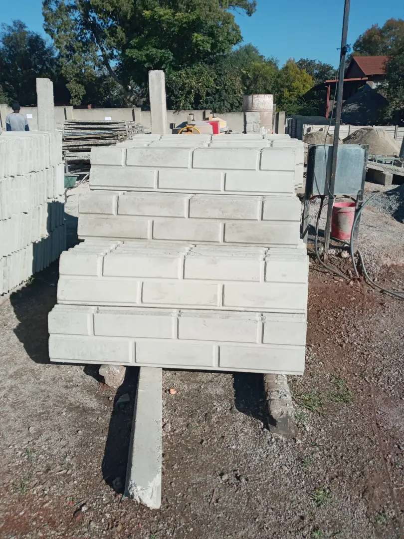 CONCRETE WALL MATERIAL.