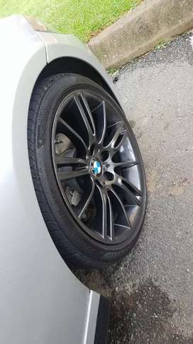 Rims and tyres for BMW F30 Pirelli tyres  255/35/18 and 225/40/18