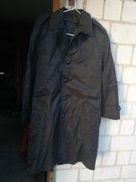 Płaszcz wojskowy czarny z podpinką