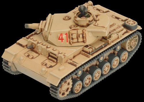 5 niemieckich czołgów Panzer III, Flames of War, plastik, nowe Bielsko-Biała - image 5