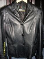 кожаний пиджак куртка шкіряний піджак