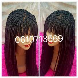 NEAT LACE PART FRINGE BRAID WIGS AND MORE