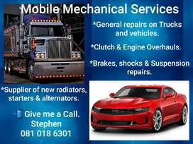 Mobile mechanical repair services