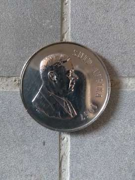 COLLECTORS COIN / RARE / 1967 / Dr. H.F VERWOERD / 1R COIN