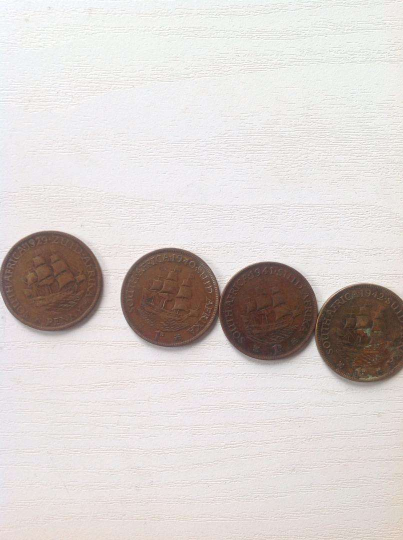 4 old coins 0