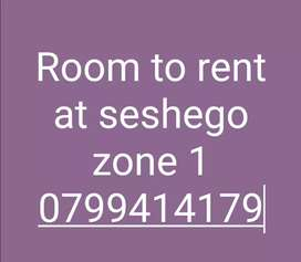 Room to rent inclide electricity and water